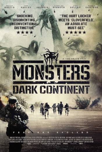 MONSTERS: DARK CONTINENT artwork