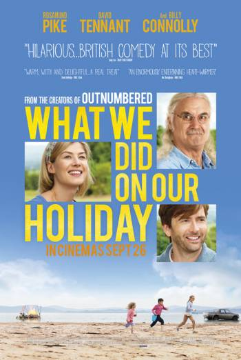 WHAT WE DID ON OUR HOLIDAY <span>(2014)</span> artwork