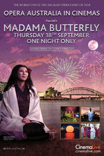 MADAMA BUTTERFLY ON SYDNEY HARBOUR artwork