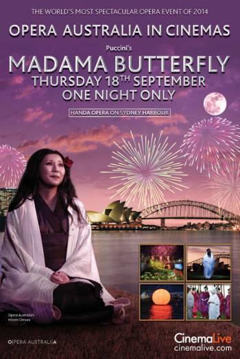 MADAMA BUTTERFLY ON SYDNEY HARBOUR artwork