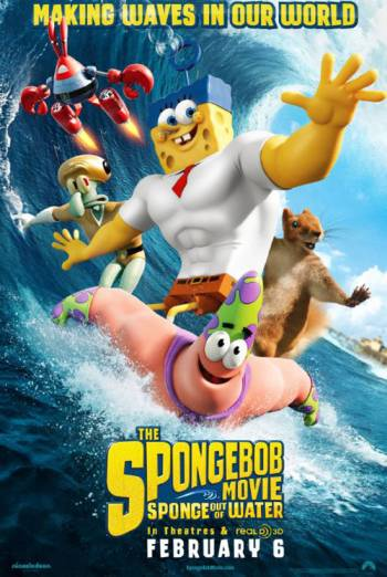 SpongeBob Movie: Sponge Out of Water (3D)
