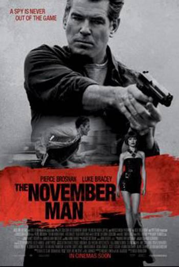 THE NOVEMBER MAN artwork