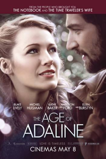 THE AGE OF ADALINE artwork