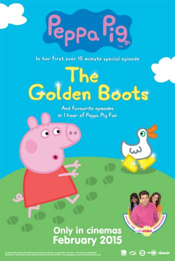 PEPPA PIG: THE GOLDEN BOOTS <span>(2015)</span> artwork