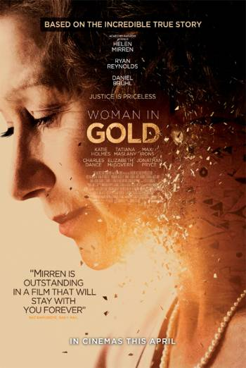WOMAN IN GOLD artwork