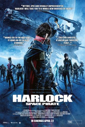 HARLOCK SPACE PIRATE <span>[2D]</span> artwork