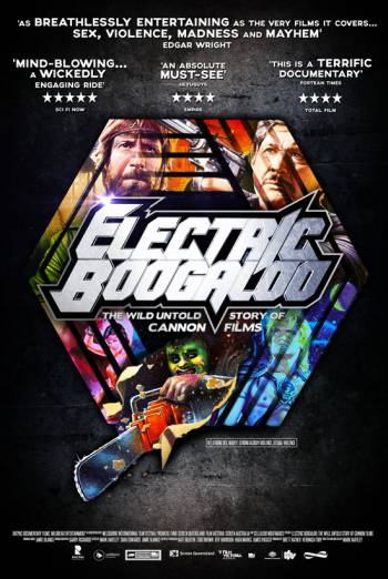 ELECTRIC BOOGALOO: THE WILD, UNTOLD STORY OF CANNON FILMS artwork