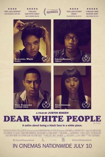 DEAR WHITE PEOPLE artwork