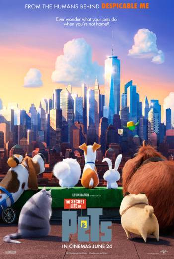 THE SECRET LIFE OF PETS <span>[Cineworld Prebook]</span> artwork