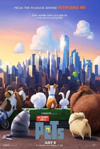 Secret Life of Pets, The (3D)