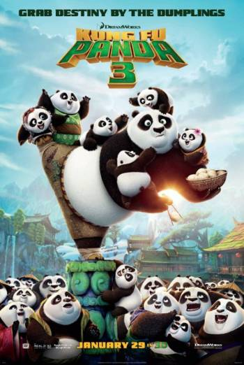 Kung Fu Panda 3 (3D)(Recliner Seat)
