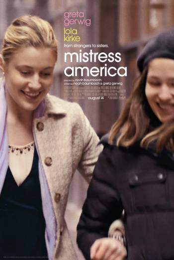 MISTRESS AMERICA <span>(2015)</span> artwork