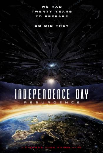 INDEPENDENCE DAY: RESURGENCE <span>(2016)</span> artwork