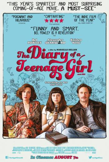 THE DIARY OF A TEENAGE GIRL artwork