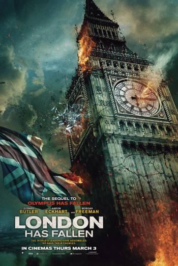 LONDON HAS FALLEN artwork