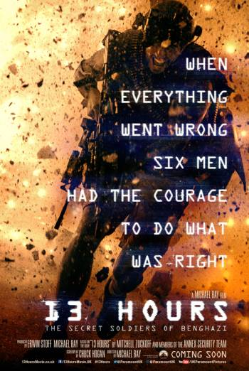 13 HOURS: THE SECRET SOLDIERS OF BENGHAZI artwork