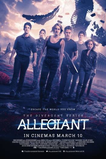 THE DIVERGENT SERIES: ALLEGIANT artwork