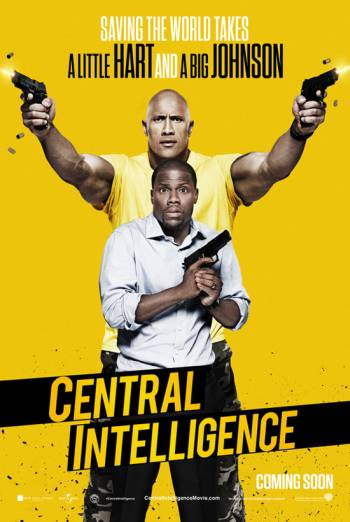 CENTRAL INTELLIGENCE artwork
