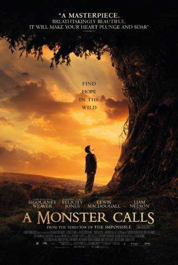 A MONSTER CALLS artwork