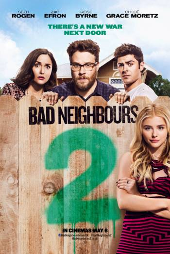 BAD NEIGHBOURS 2 artwork