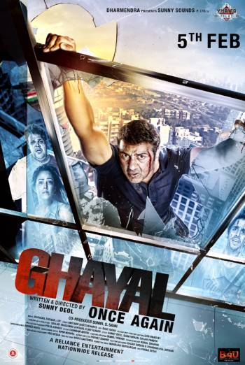GHAYAL ONCE AGAIN artwork