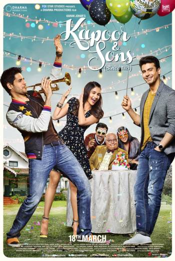 KAPOOR AND SONS artwork