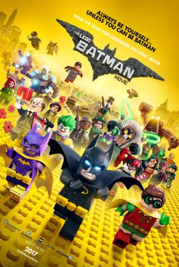 THE LEGO BATMAN MOVIE artwork