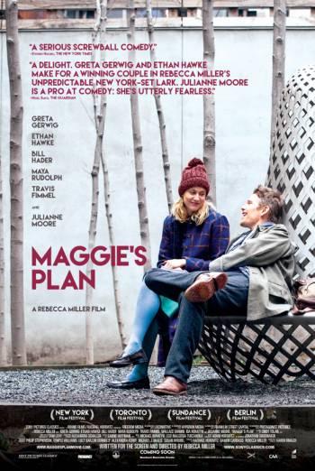 MAGGIE'S PLAN artwork
