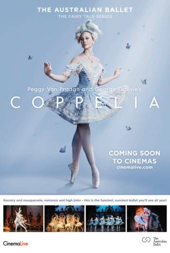 The Australian Ballet: Coppelia Poster