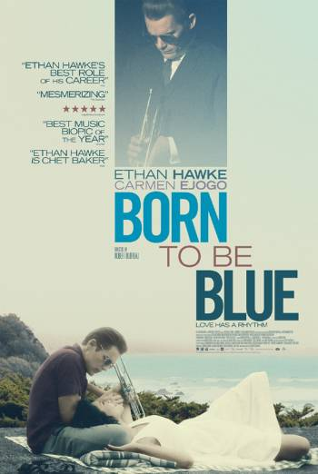 BORN TO BE BLUE artwork