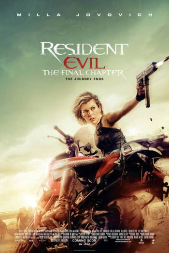 RESIDENT EVIL: THE FINAL CHAPTER <span>(2016)</span> artwork