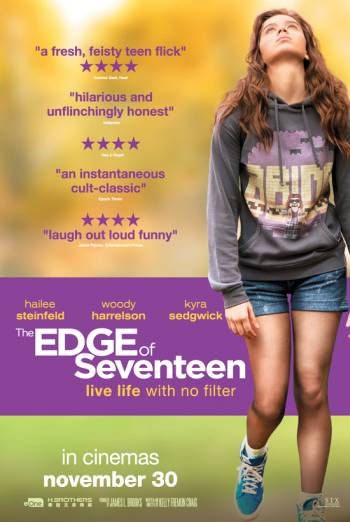 THE EDGE OF SEVENTEEN <span>(2016)</span> artwork