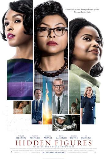 HIDDEN FIGURES <span>[Additional Material,Audio commentary with writer/director/co-producer Theodore Melfi and actor Taraji P. Henson]</span> artwork