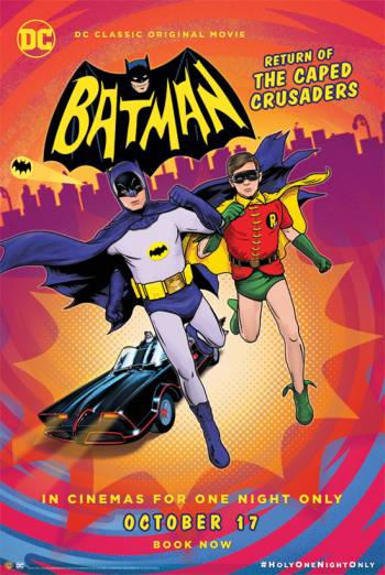 BATMAN: RETURN OF THE CAPED CRUSADERS artwork