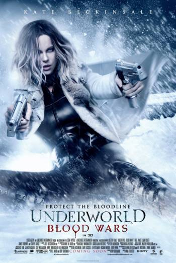 UNDERWORLD: BLOOD WARS <span>[TH Domestic Feature,3D]</span> artwork