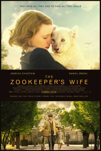 THE ZOOKEEPER'S WIFE artwork