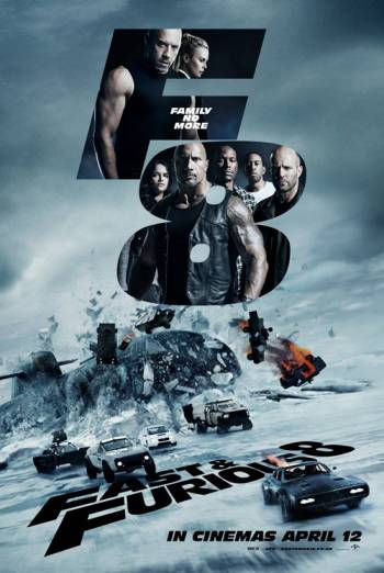FAST & FURIOUS 8 artwork