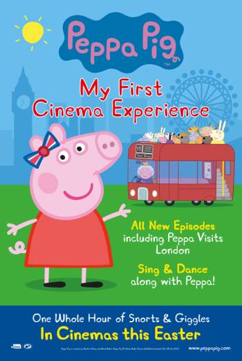 PEPPA PIG: MY FIRST CINEMA EXPERIENCE artwork