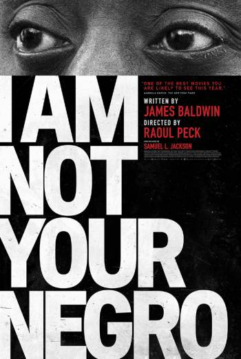 I AM NOT YOUR NEGRO artwork