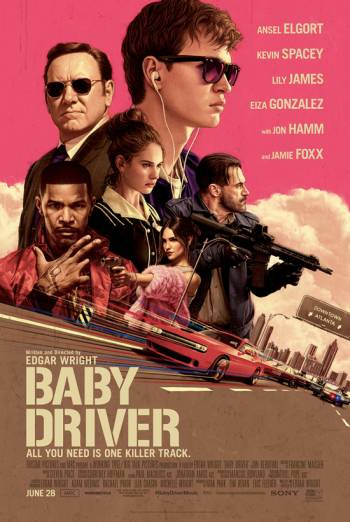 BABY DRIVER artwork