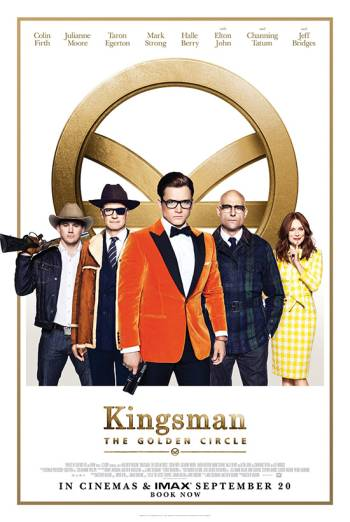 KINGSMAN: THE GOLDEN CIRCLE <span>[Odeon PSA trailer]</span> artwork