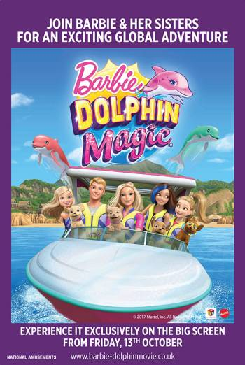BARBIE: DOLPHIN MAGIC <span>(2017)</span> artwork