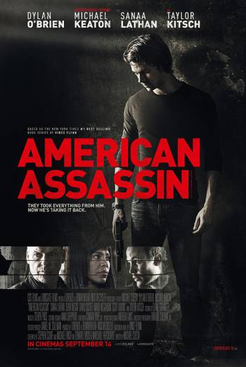 AMERICAN ASSASSIN artwork