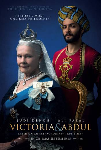 VICTORIA & ABDUL artwork