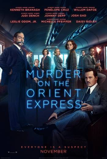 MURDER ON THE ORIENT EXPRESS <span>(2017)</span> artwork