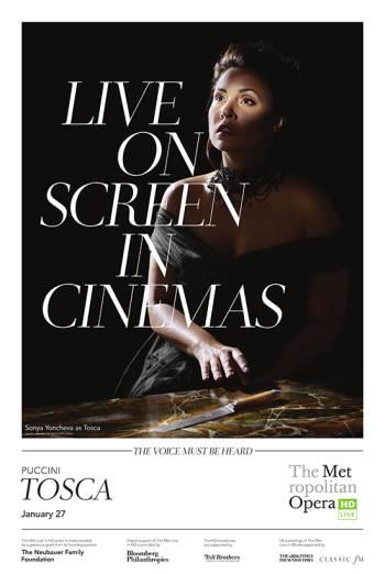 MET Opera: Tosca (2018)
