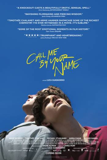 CALL ME BY YOUR NAME artwork