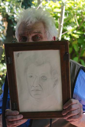 THE SEASONS IN QUINCY: FOUR PORTRAITS OF JOHN BERGER <span>(2016)</span> artwork