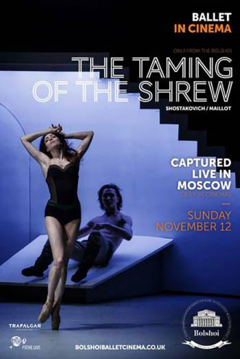 Bolshoi: The Taming of the Shrew Poster