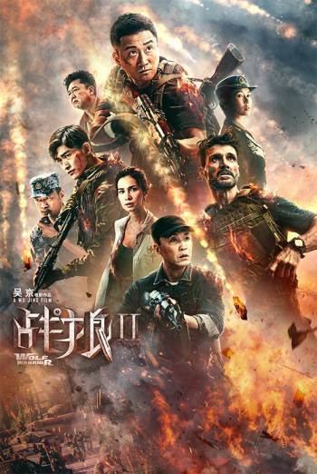 WOLF WARRIOR 2 <span>(2017)</span> artwork